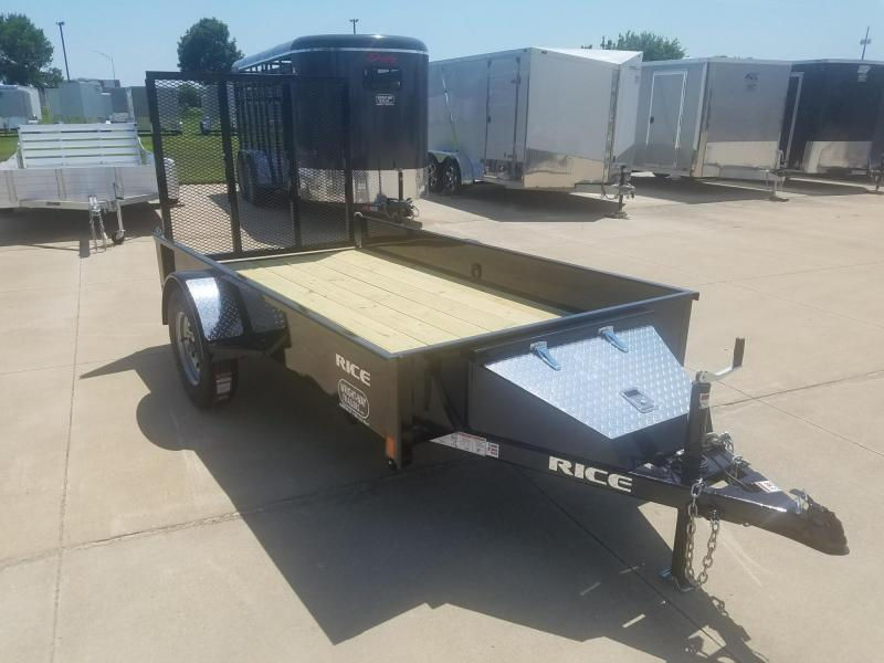 2018 Rice STEALTH 5X10 Utility Trailer