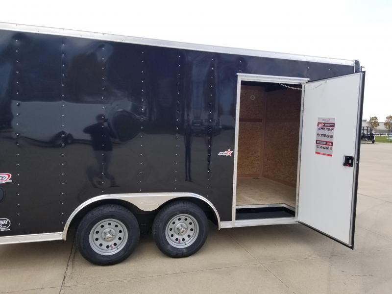 2019 Bravo Trailers 8.5X16 Enclosed Cargo Trailer