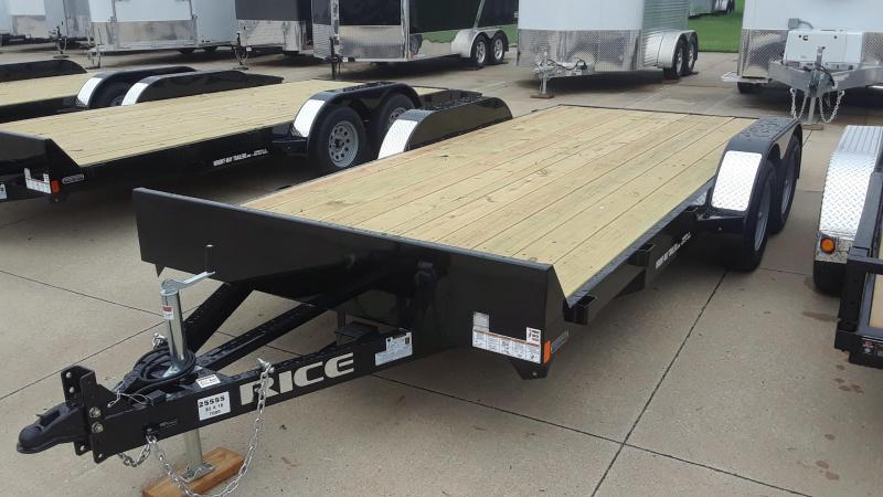 2020 Rice 18' Car Hauler Trailer