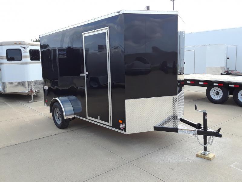 2019 Bravo 6X12 V-Nose Enclosed Cargo Trailer