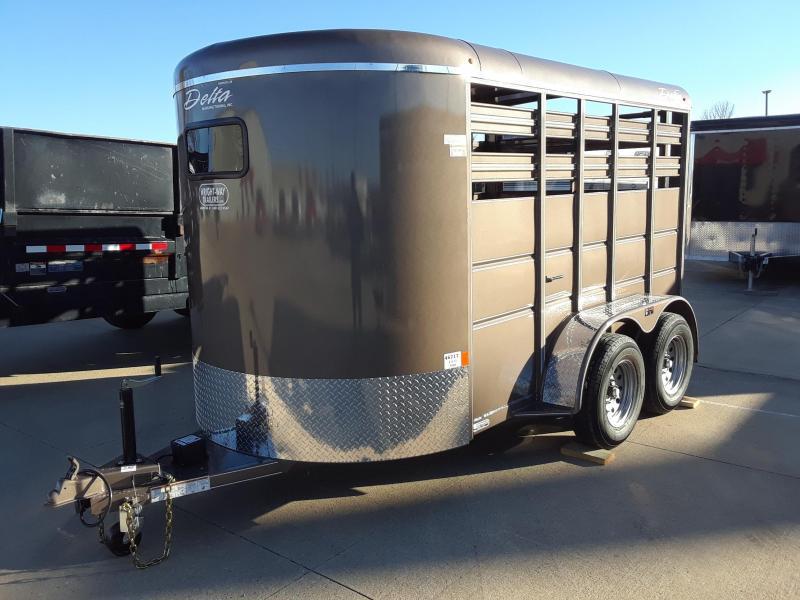 2019 Delta 6X12 Livestock Trailer