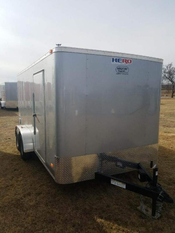2017 Bravo Trailers HR714TA2 Enclosed Cargo Trailer