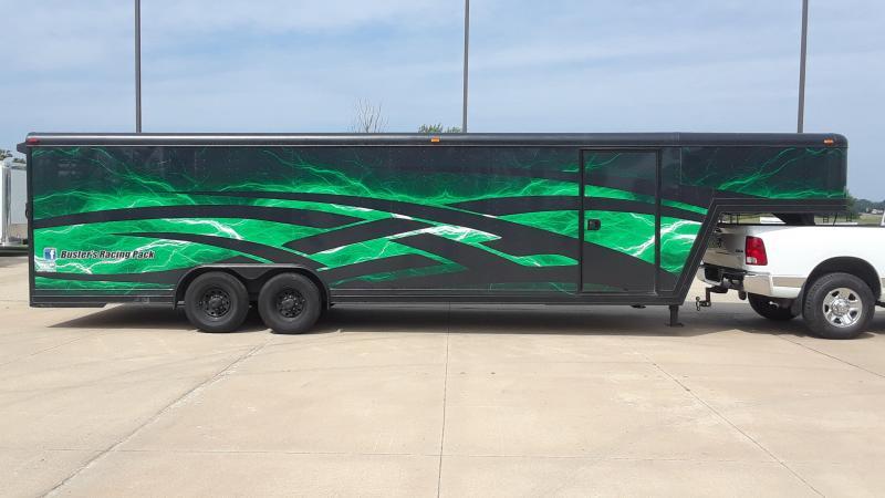 Featherlite 34' enclosed gooseneck Car / Racing Trailer