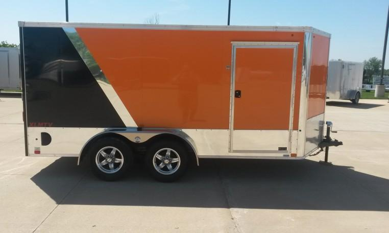 United XLMTV 7 X 14 Enclosed Trailer
