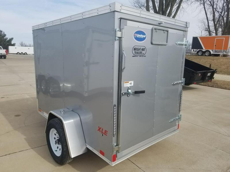 2018 United Trailers XLE 5X8 Enclosed Cargo Trailer