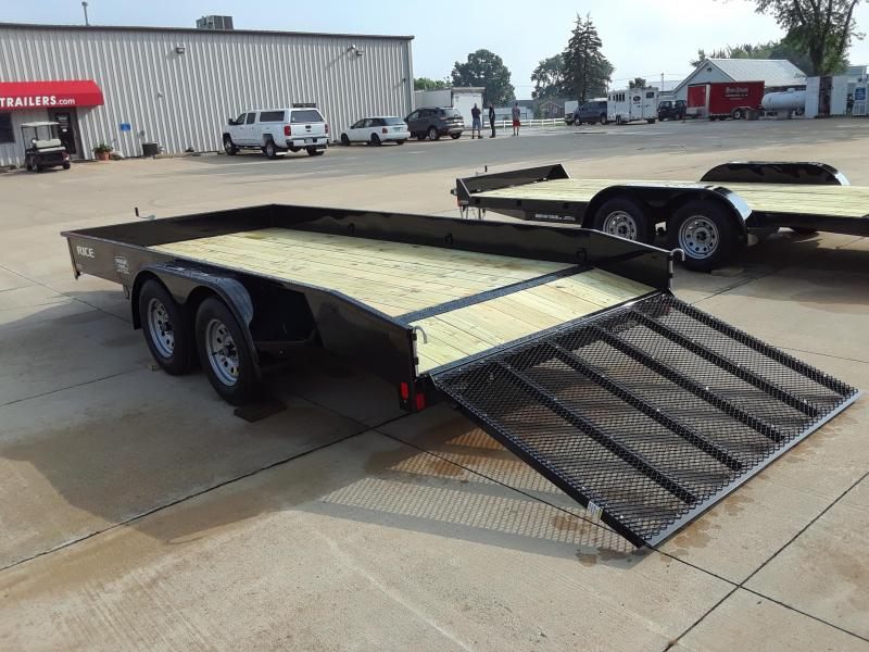 2019 Rice 16' Steel Utility Trailer