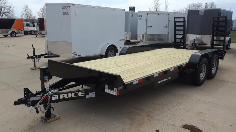 2020 Rice 20' Equipment Trailer