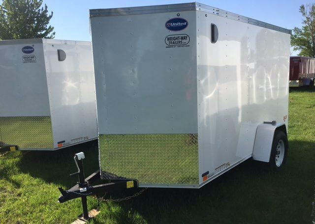 United XLV 6 X 10 V-Nose Enclosed Cargo Trailer