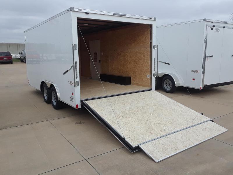 2019 Bravo Trailers 8.5X16 V-Nose Enclosed Cargo Trailer