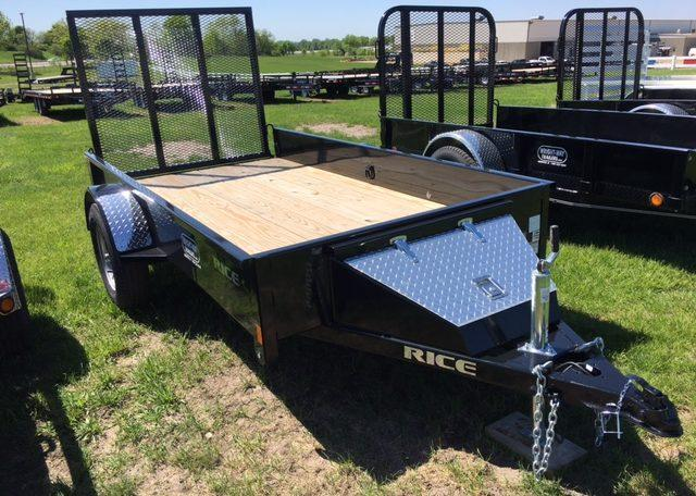 Rice 5 X 10 Stealth Utility Trailer