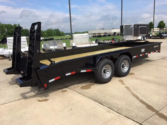 "2018 Rice 6'10"" X 20' Flatbed Trailer"