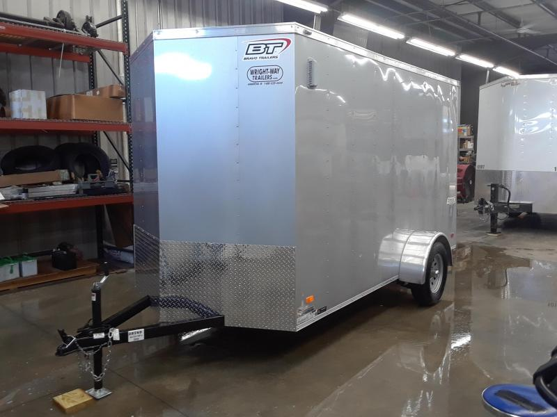 2020 Bravo 6X12 Enclosed Cargo Trailer