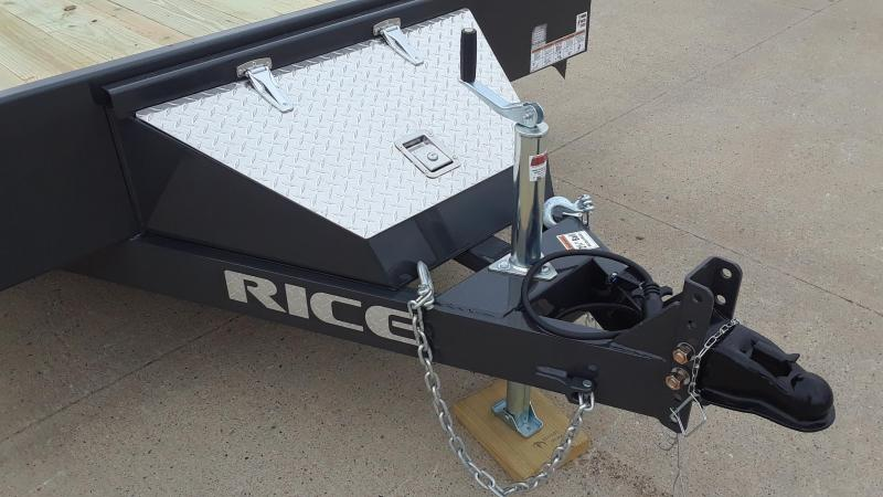 Rice 18' Car Hauler / Racing Trailer