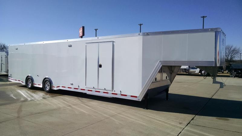 2018 ATC QUEST 42' GOOSENECK RACE TRAILER Car / Racing Trailer