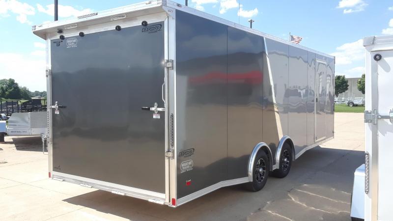 2020 Bravo 8.5X24 Aluminum Car / Racing Trailer