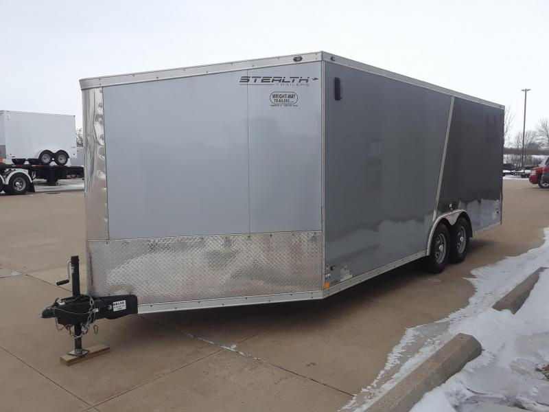 2018 Stealth 8.5x20 Snowmobile Trailer