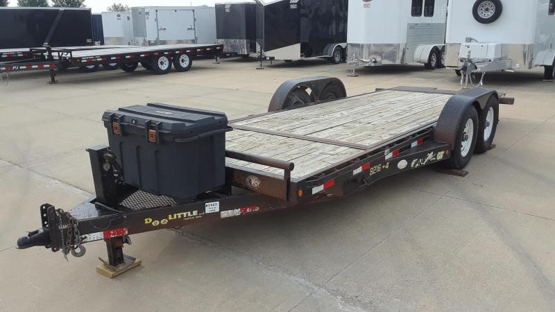 2010 DooLitttle 20' Tilt Equipment Trailer