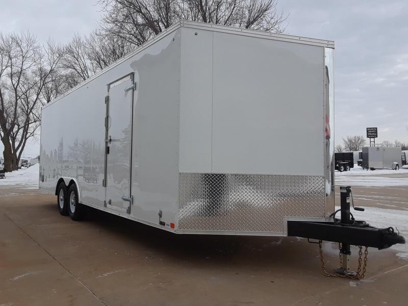 2019 United 8.5X24 + V Nose Car / Racing Trailer