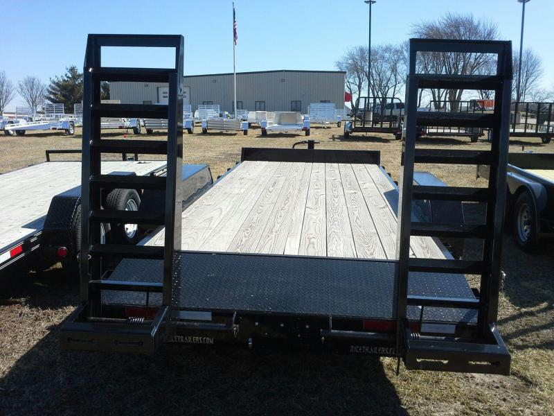 RICE 82 X 18 MAGNUM EQUIPMENT TRAILER