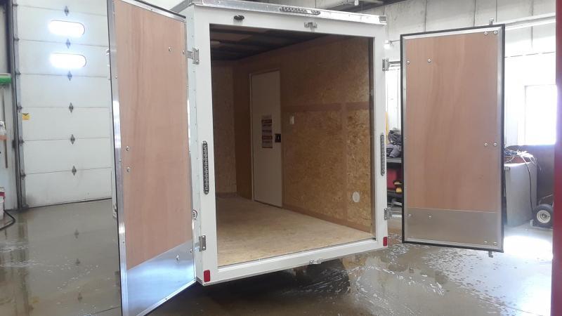 2020 Bravo 6X10 V Nose Enclosed Cargo Trailer