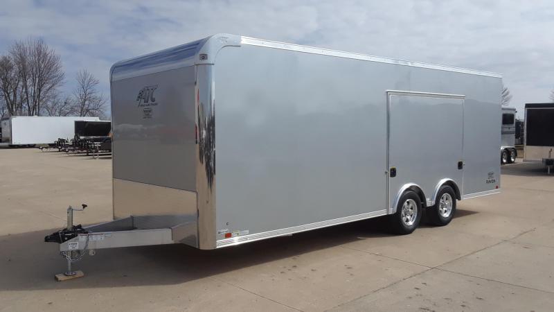 2019 ATC 8.5X22 Aluminum Car / Racing Trailer