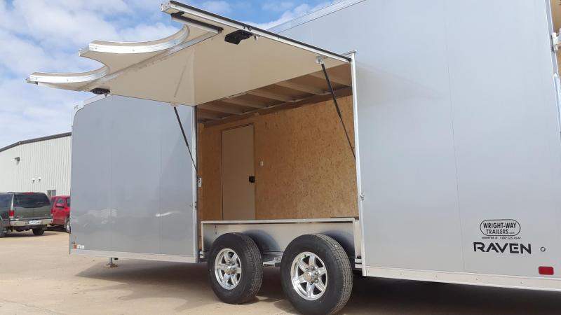 2019 ATC 8.5X22 Aluminum Car / Racing Trailer