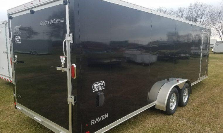 ATC Raven 7 X 22'+6' Snowmobile Trailer