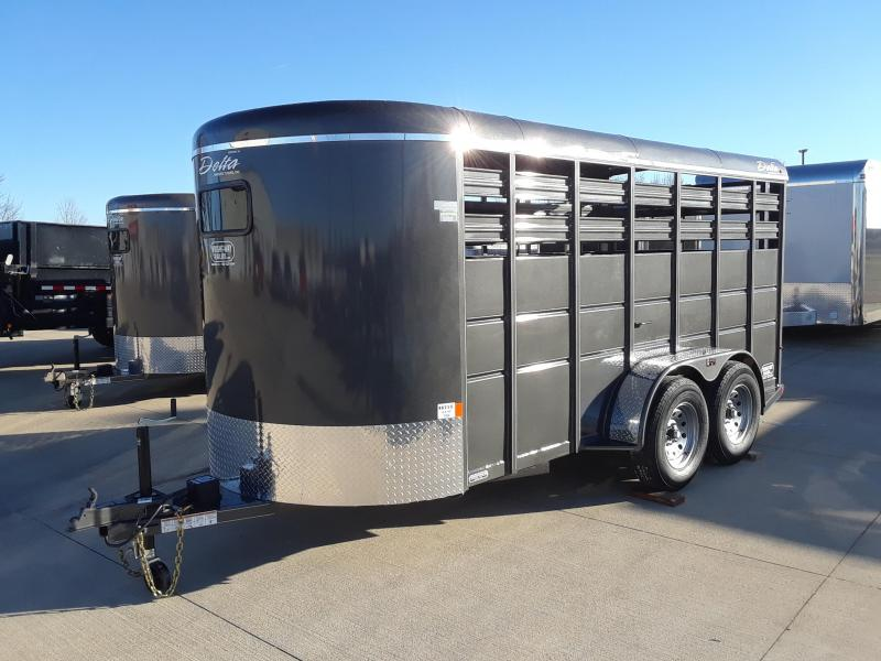 Delta 16' Livestock Trailer Stock Trailer in Ashburn, VA