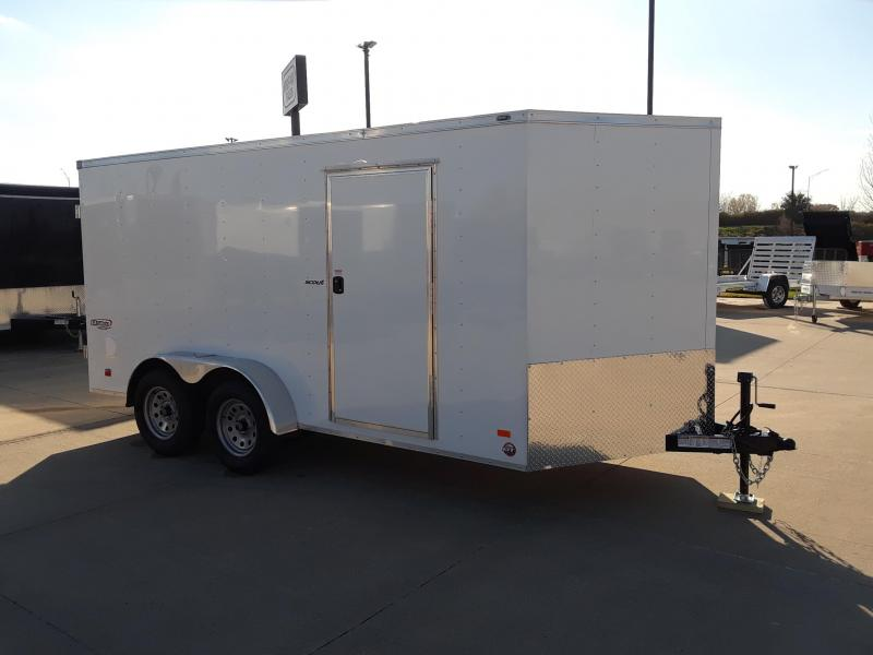 2019 Bravo Trailers 7X14 V-Nose Enclosed Cargo Trailer