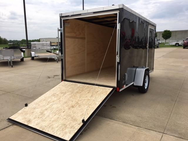 """2019 United XLV 6 x 12+24"""" V-Nose Cargo Trailer"""