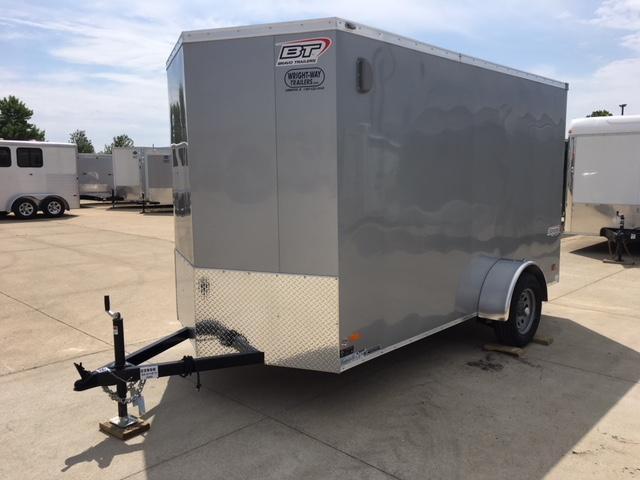 """2019 Bravo  6 x 12+18"""" V-Nose  Cargo Trailer"""