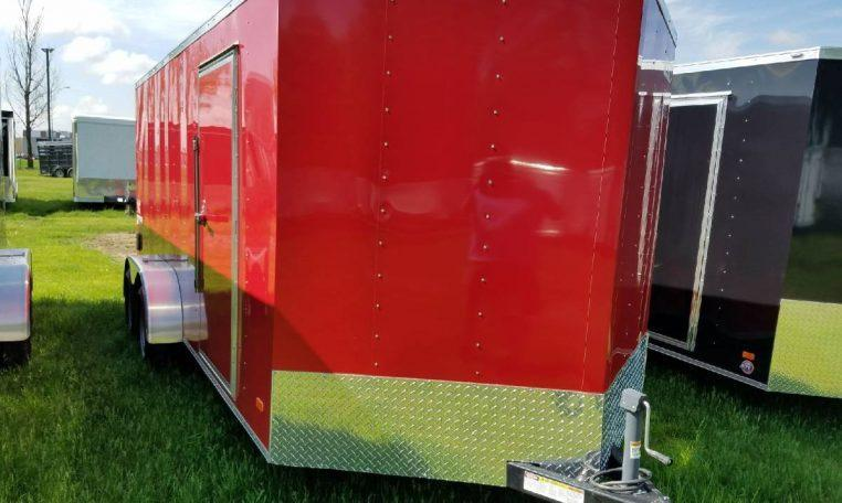 Hero by Bravo 7 X 16 Enclosed Cargo Trailer