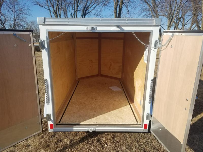 2018 United Trailers 5X8 XLV Enclosed Cargo Trailer