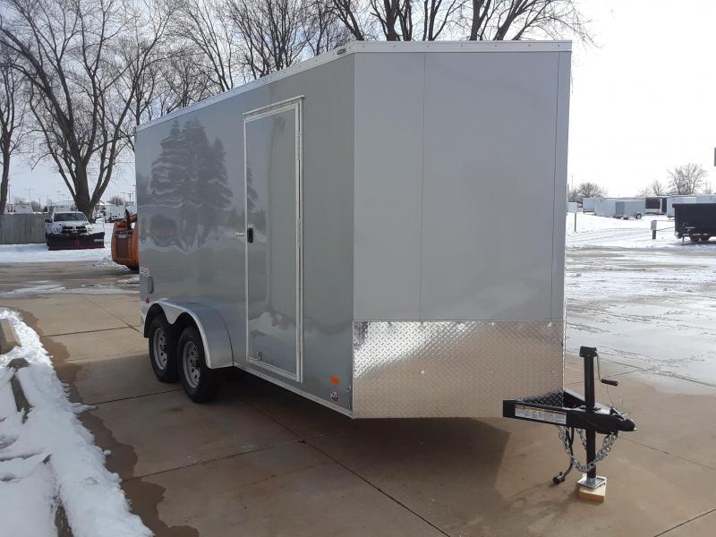 2019 Bravo 7X14 V Nose Enclosed Cargo Trailer