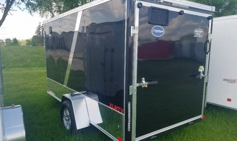 United XLMTV 6 X 12 Enclosed Trailer