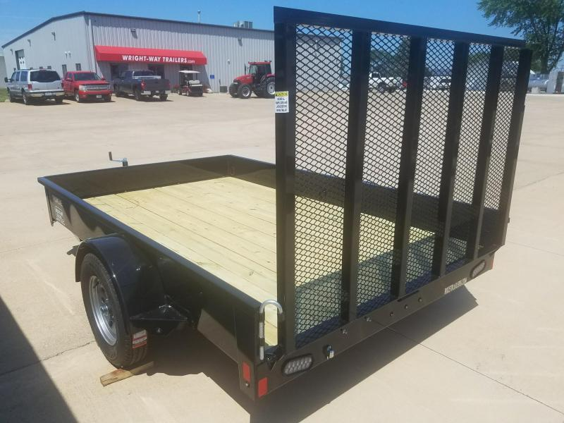 2018 Rice 10' Steel Utility Trailer