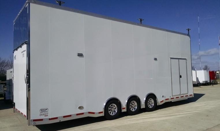 30' ATC Aluminum Stacker Car / Racing Trailer