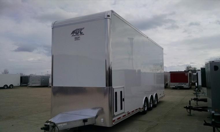 30' ATC Aluminum Stacker Car / Racing Trailer