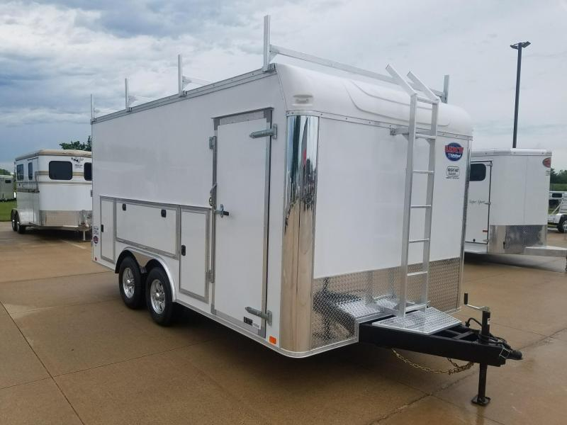 2019 United Trailers UXT 8.5X16 TOOL CRIB Enclosed Cargo Trailer