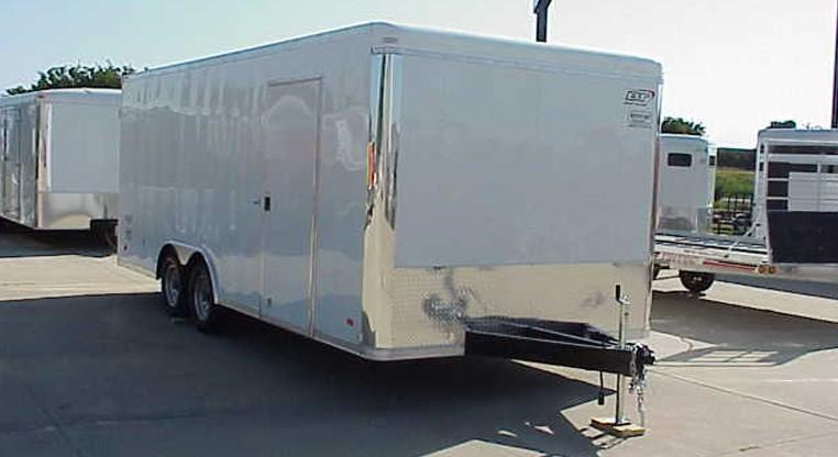 Bravo Star 8.5 X 20 Enclosed - Rear Double Door