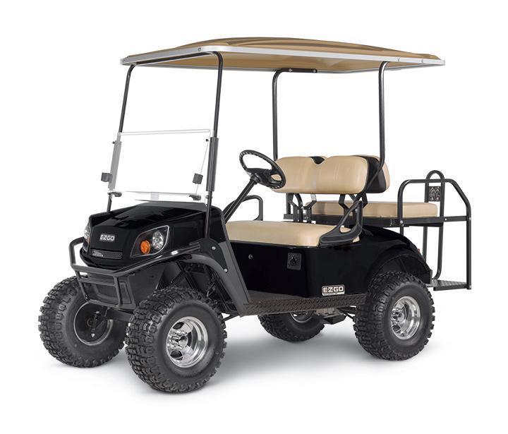 2019 E-Z-GO Express S4 (Gas) Golf Cart
