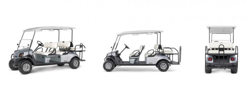2018 E-Z-Go Express S6 (Gas) Golf Cart
