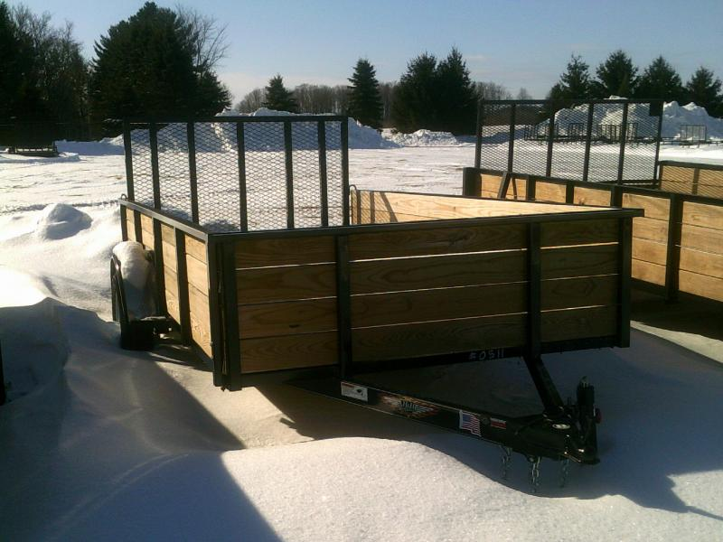 6X10 2018 H and H Trailer WOODSIDE Material Handling