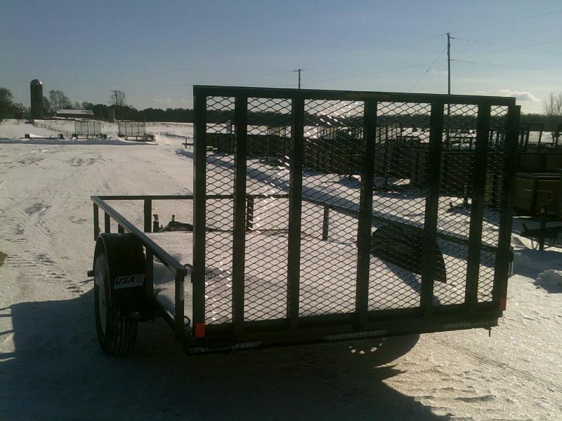6X10 2018 H and H Trailer LANDSCAPE Material Handling