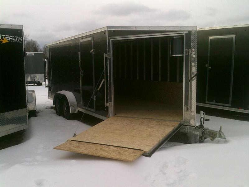 7X23 2019 Stealth SNOWMOBILE Trailers APACHE Material Handling