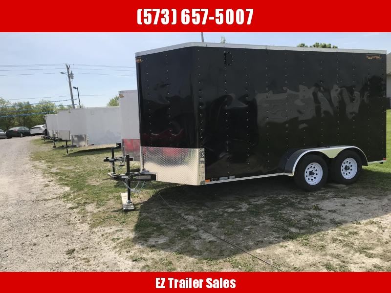 2018 Doolittle Trailer Mfg 7x14 Enclosed Cargo Trailer