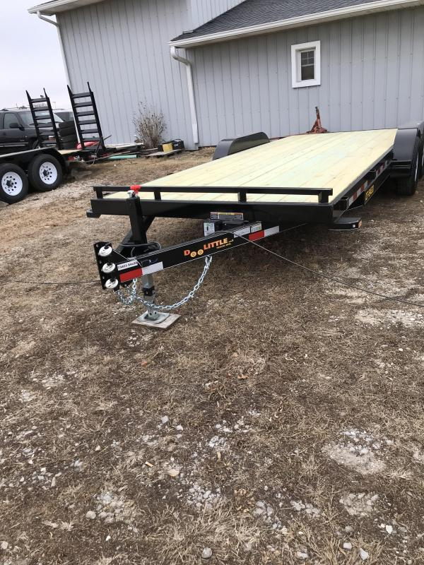2018 Doolittle 84x20 CF 10k Equipment Trailer