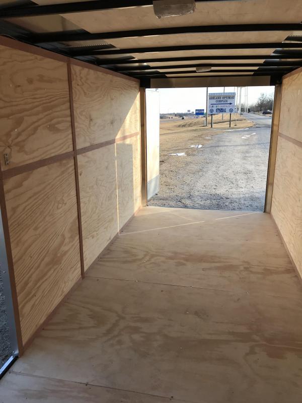2018 Doolittle Trailer Mfg 7x16 Enclosed Cargo Trailer