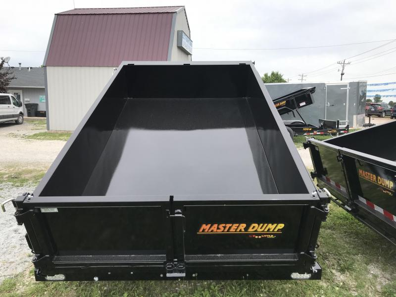2018 Doolittle Trailer Mfg 72x10 Dump Trailer