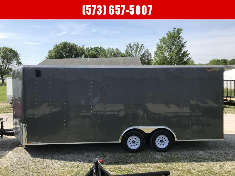 2018 Doolittle Trailer Mfg 8.5x20 Enclosed Cargo Trailer